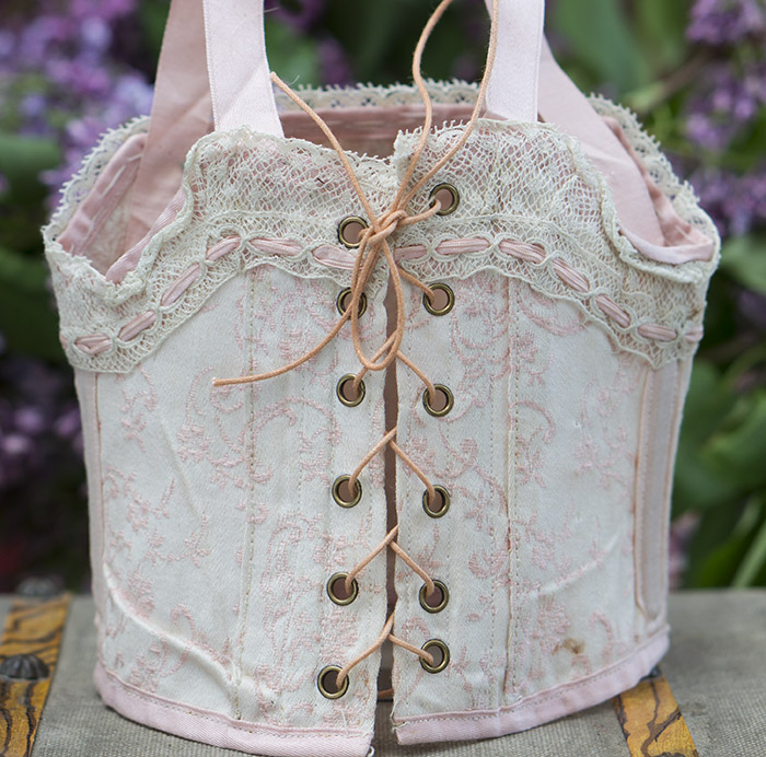 Antique Original Doll Corset
