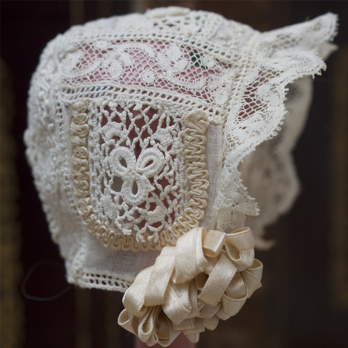 Antique Original Small Bonnet