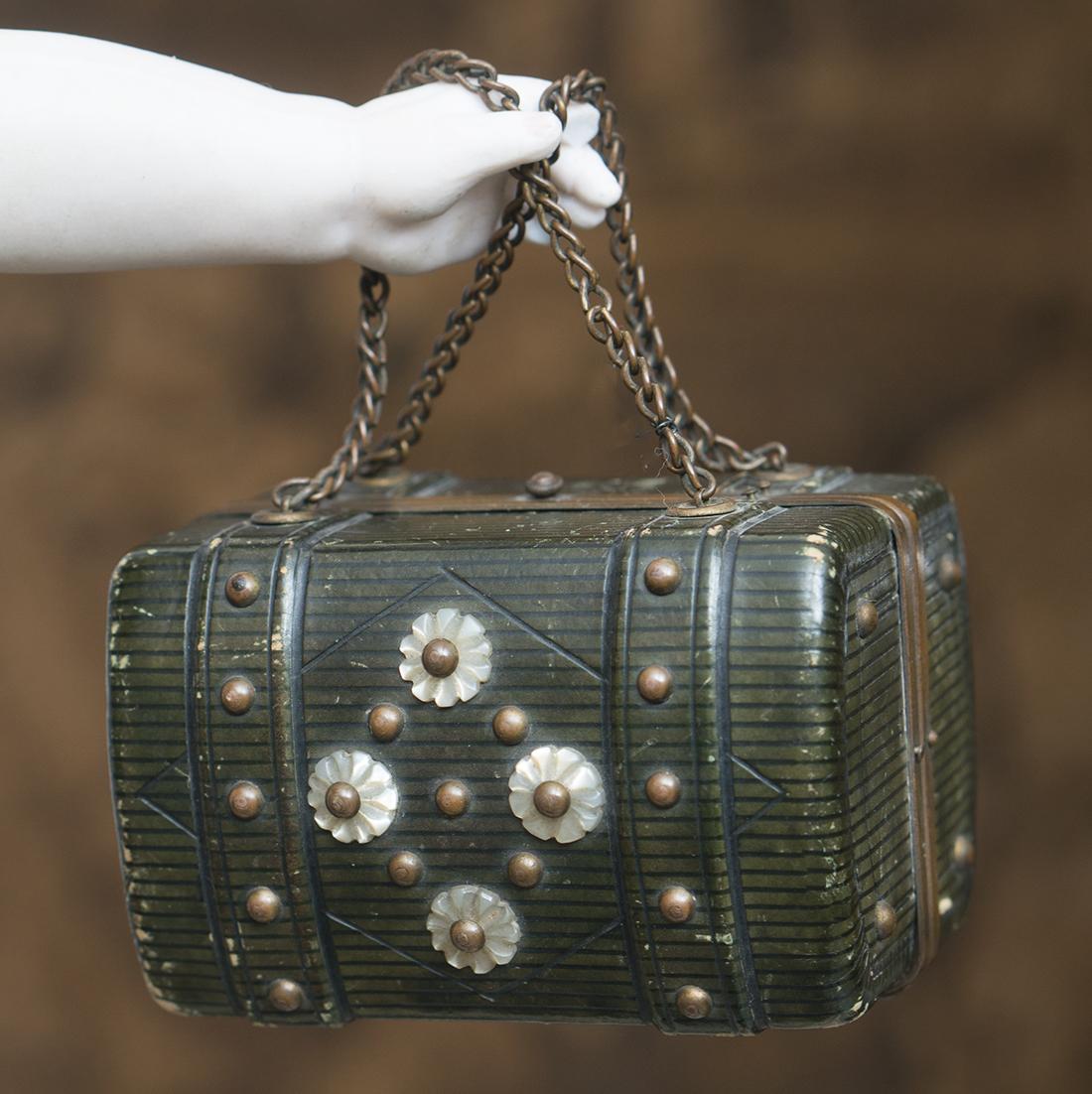 Antique doll Bag