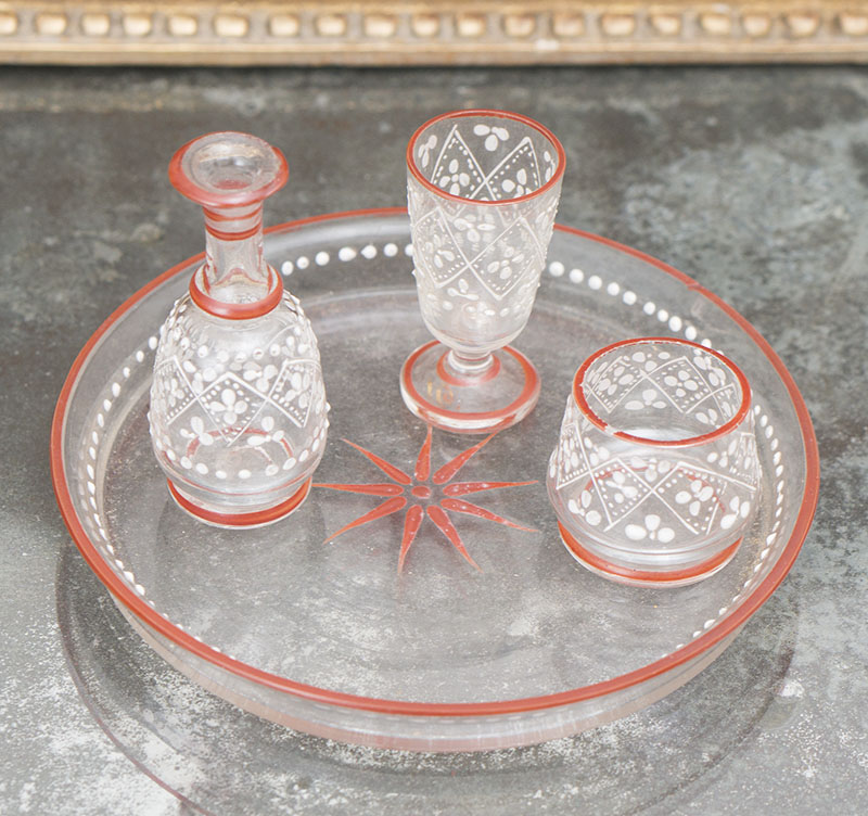 Antique Glass set