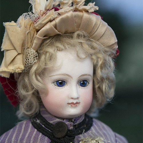 Early French Barrois fashion  doll