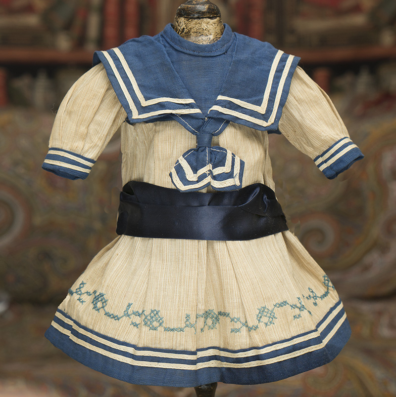Antique Original French Sailor Dress