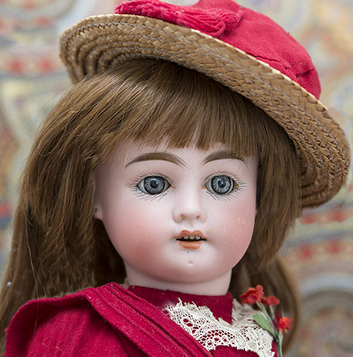 Antique doll by Fleischmann, c.1900