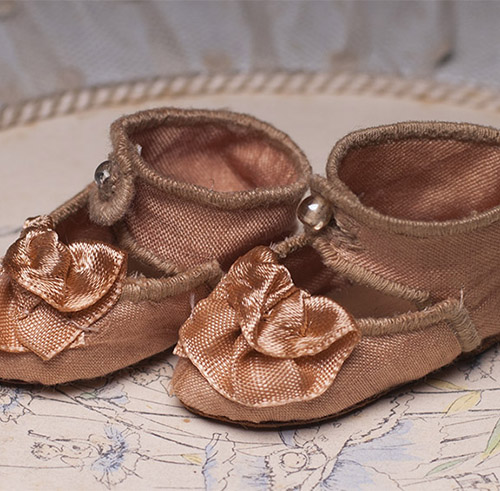 Antique French Jumeau Shoes