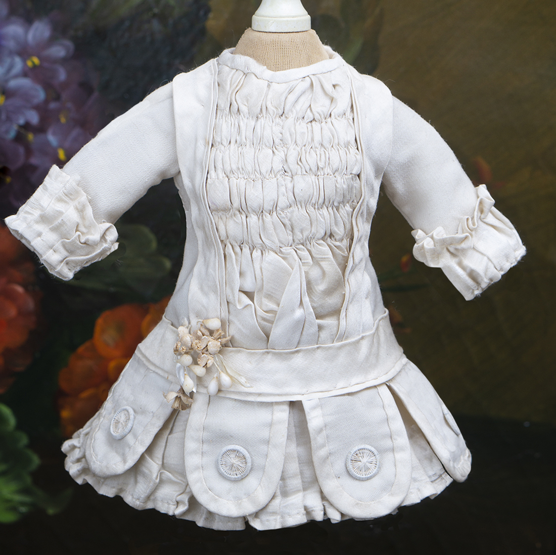 Antique Dress for small bebe