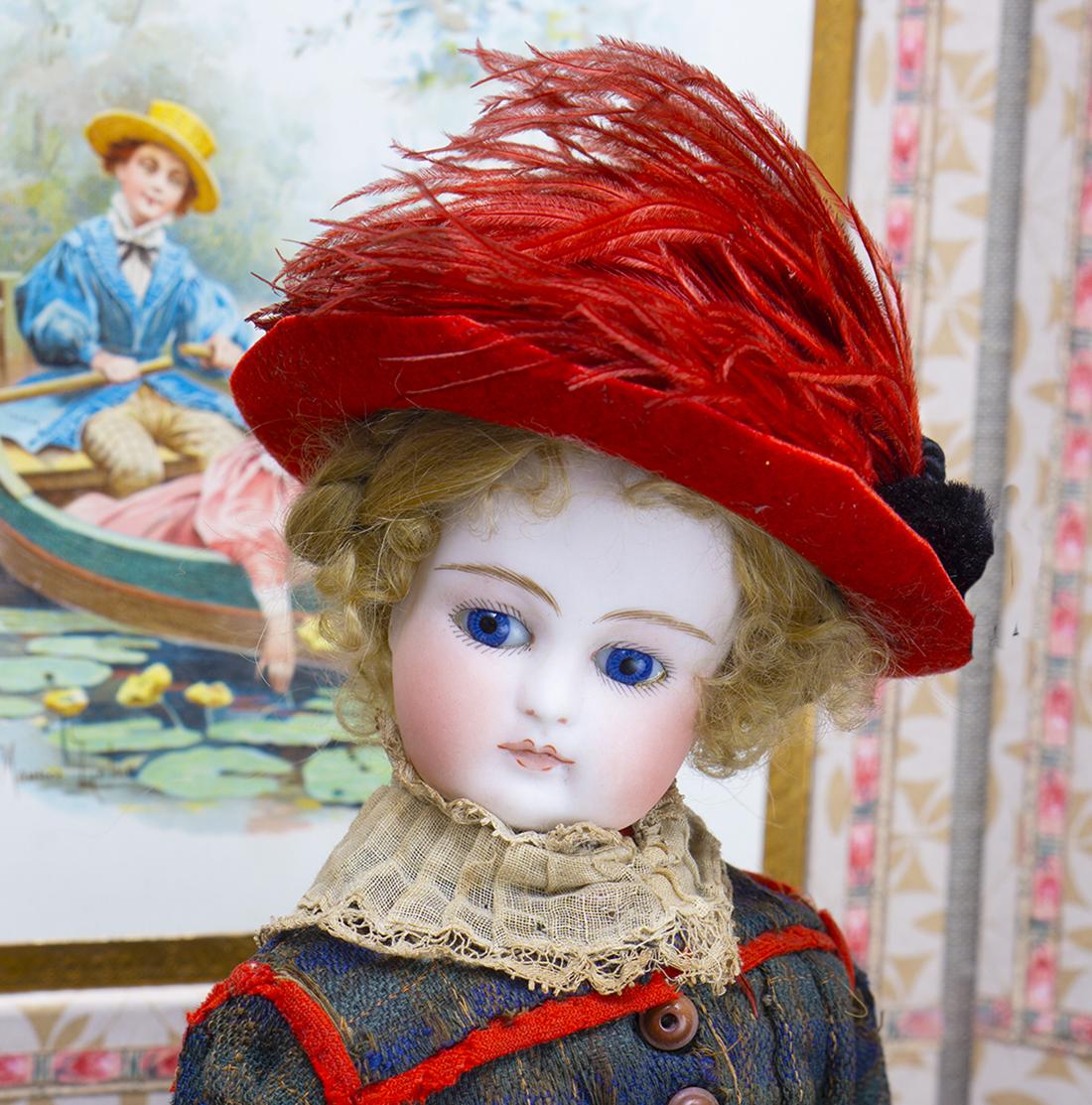 French fashion doll by Barrois