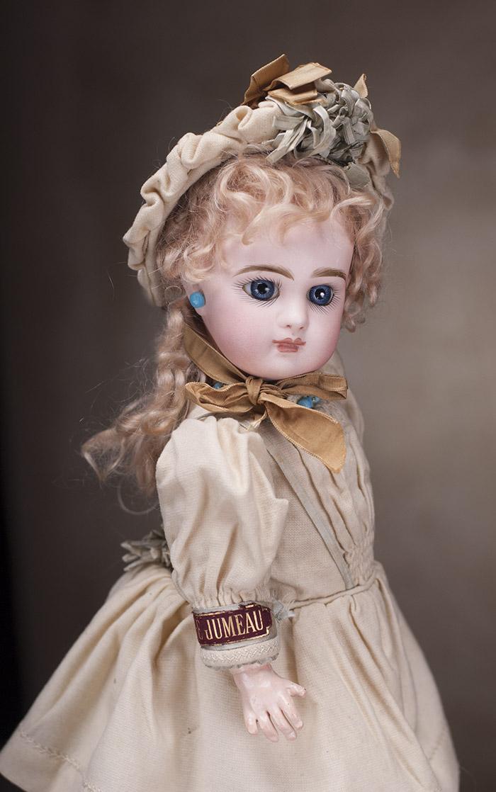 Кукла Jumeau с закрытым ртом, полностью во всем оригинальном! 37 см, 1880е годы