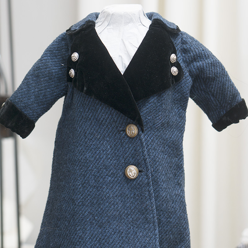 Antique Original Coat for doll