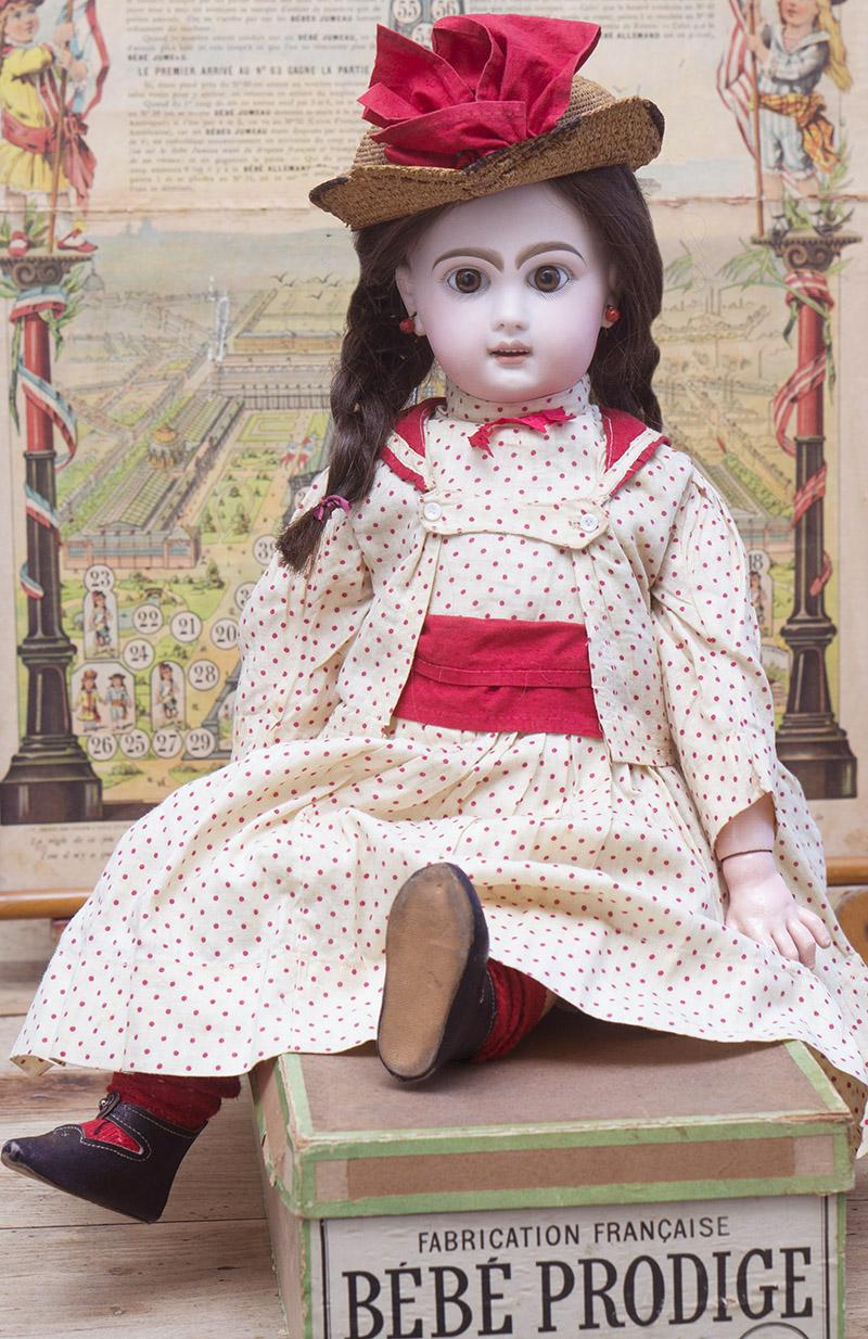 53 см Вebe Jumeau Prodige в оригинальном костюме и в родной коробке