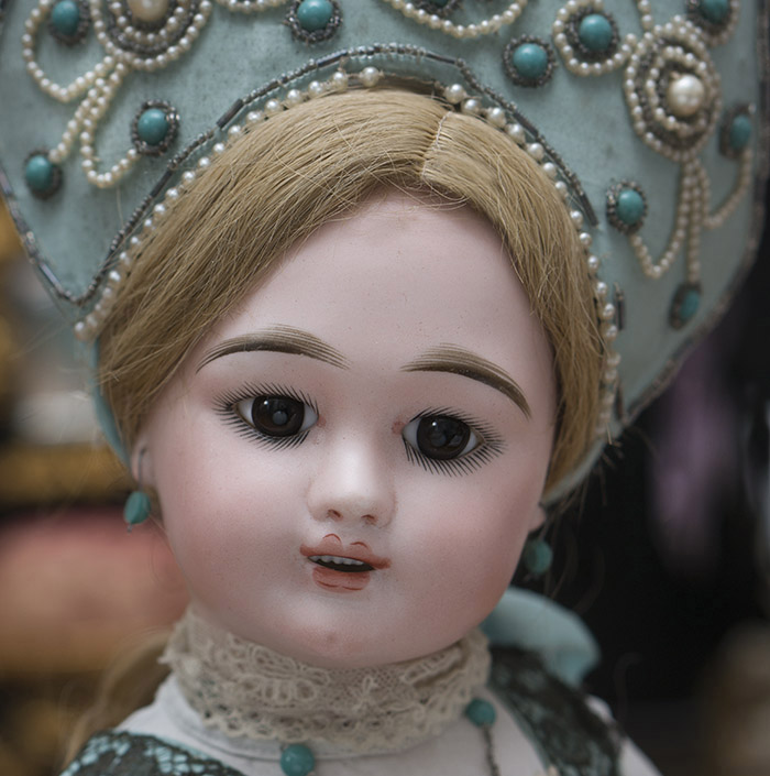 Eden bebe doll in Russian costume