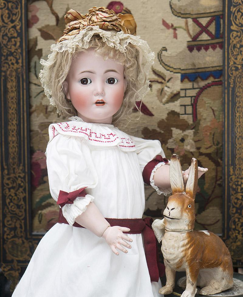 65см Характерная кукла  модель 117N фирмы Kammer & Reinhardt, модель Mein Susser Liebling