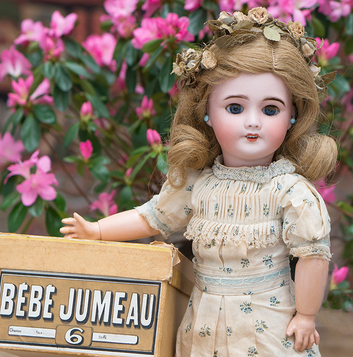 All original Jumeau SFBJ doll