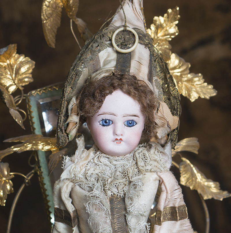 Polichinelle Limoges doll