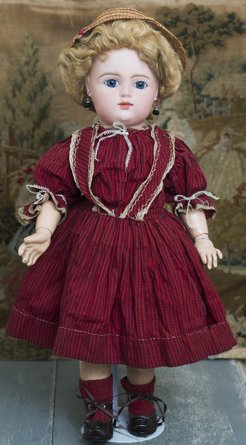 44 см Кукла Bebe Gaultier, 1880гг.