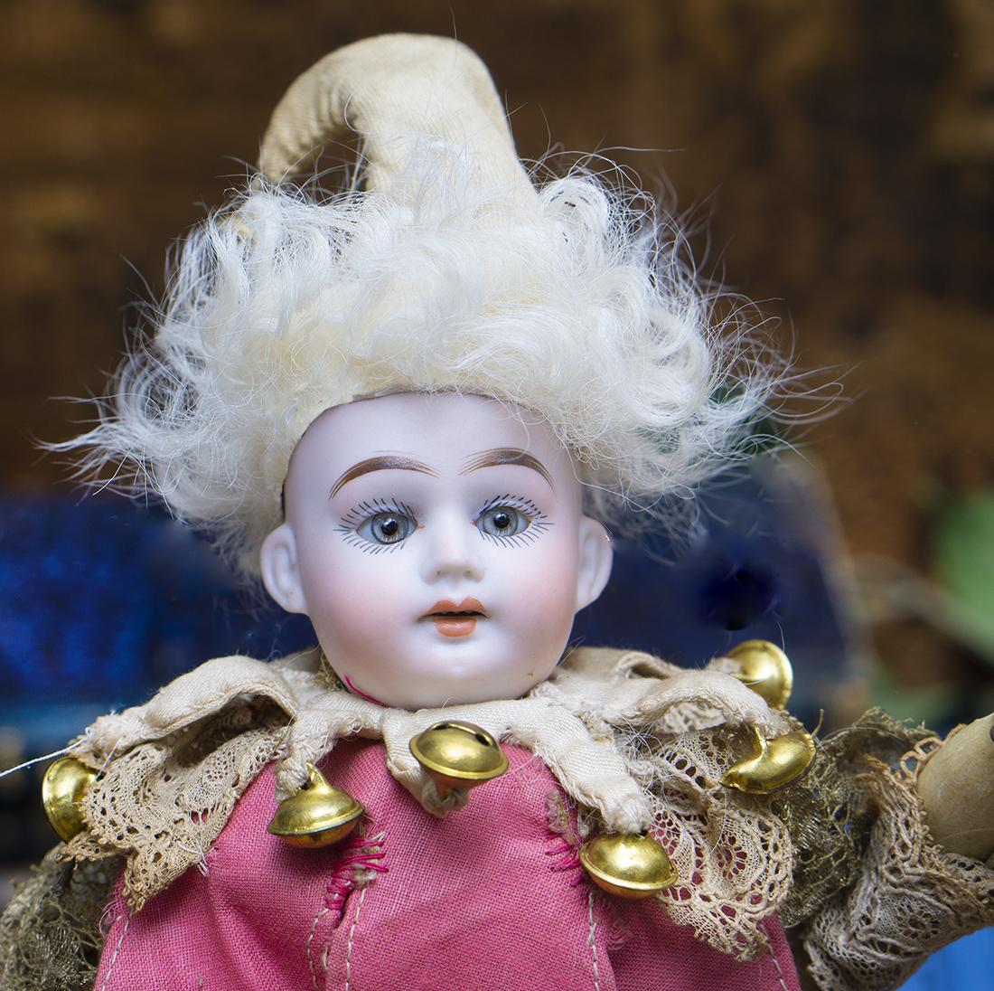 Antique Marotte doll