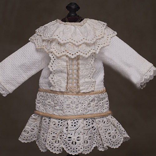 Antique small doll dress