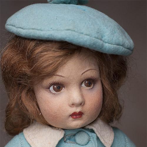 Кукла ЛЕНЧИ - Италия, 1930-е годы