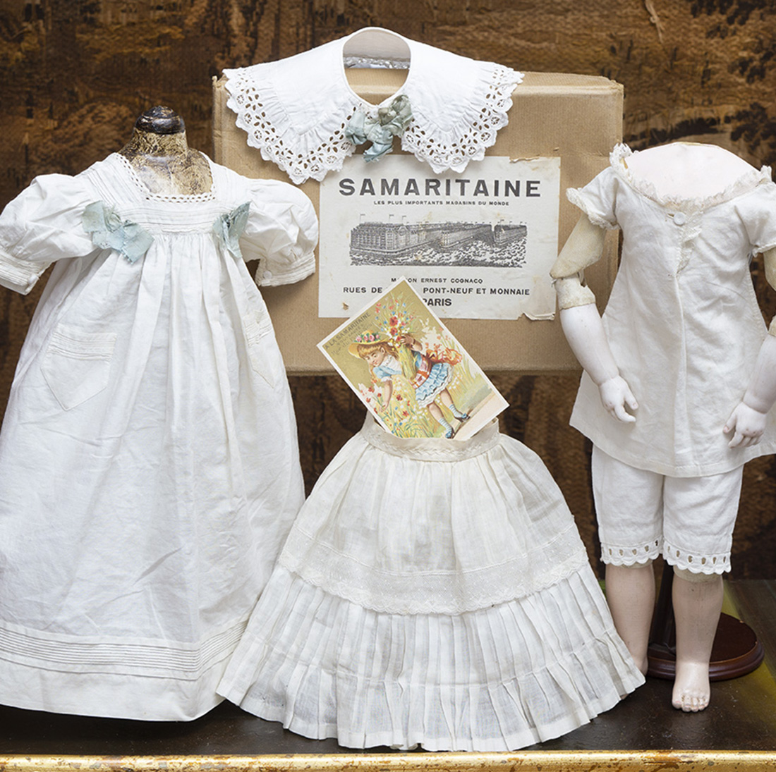 Antique doll undergarments