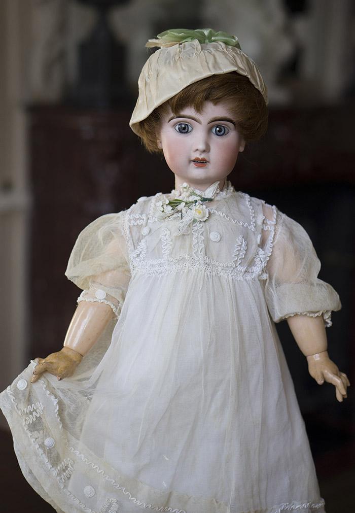 Кукла Jumeau рекламная модель, 1890е годы, высота 61 см