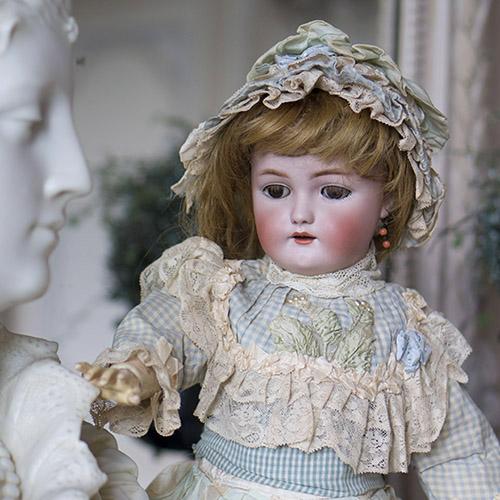 Кукла Simon&Halbig, WSK 54 см
