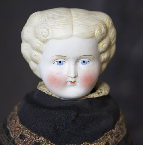 Antique China head Parian doll