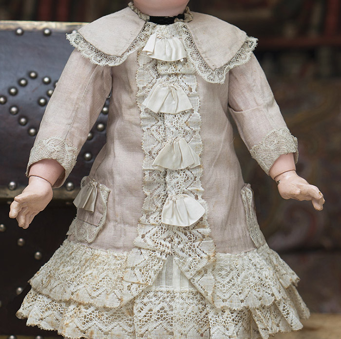 Antique Original doll dress