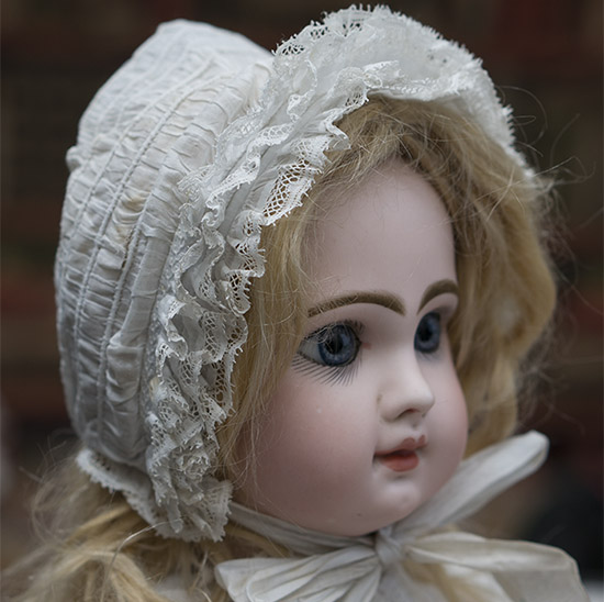 Antique Original Bonnet for doll