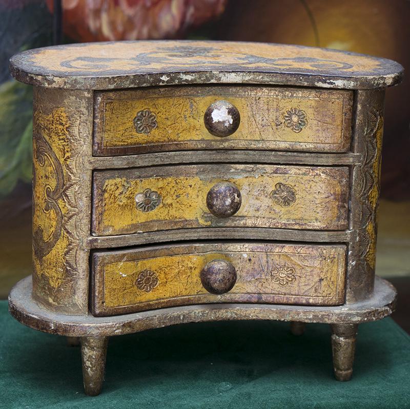 Antique doll dresser