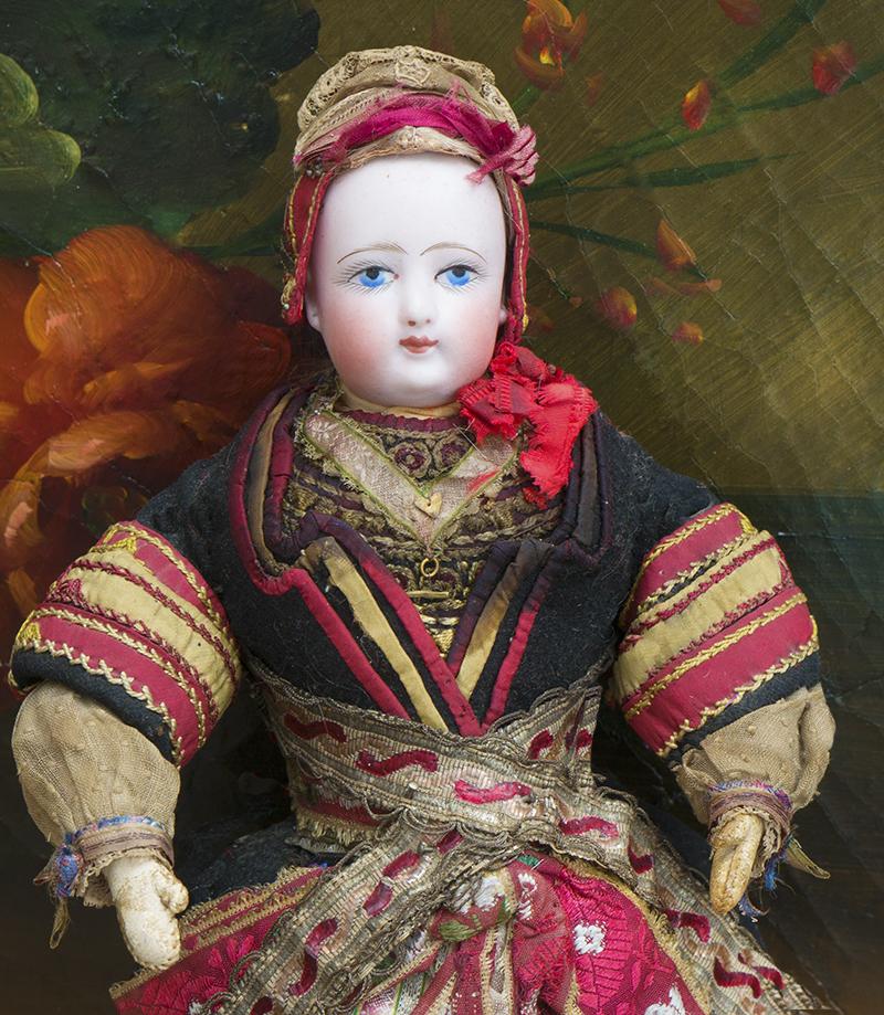 33 см Модная Готье в оригинальном Бретонском костюме