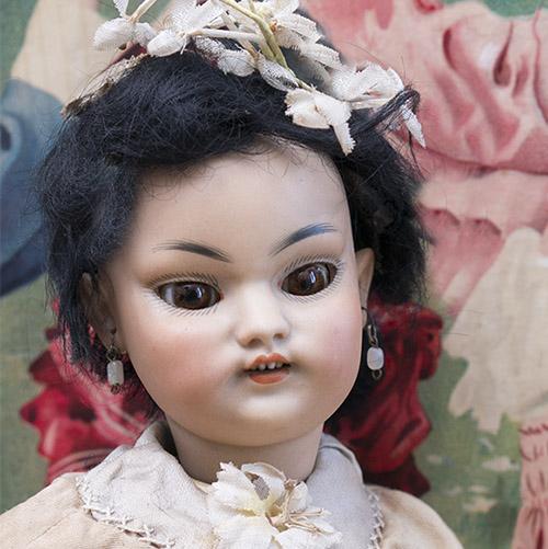 Rare Asian doll 1129