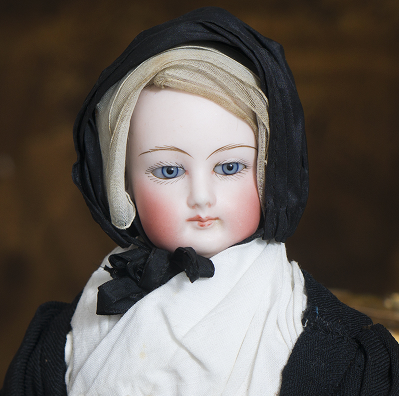 Antique French Fashion Nun Doll