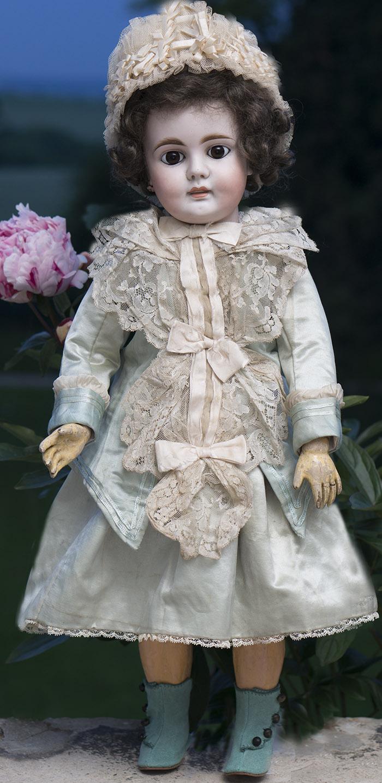 62 см Редкая  Кукла Bahr & Proschild