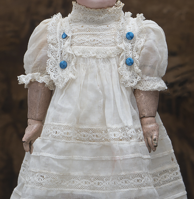 Antique doll original dress