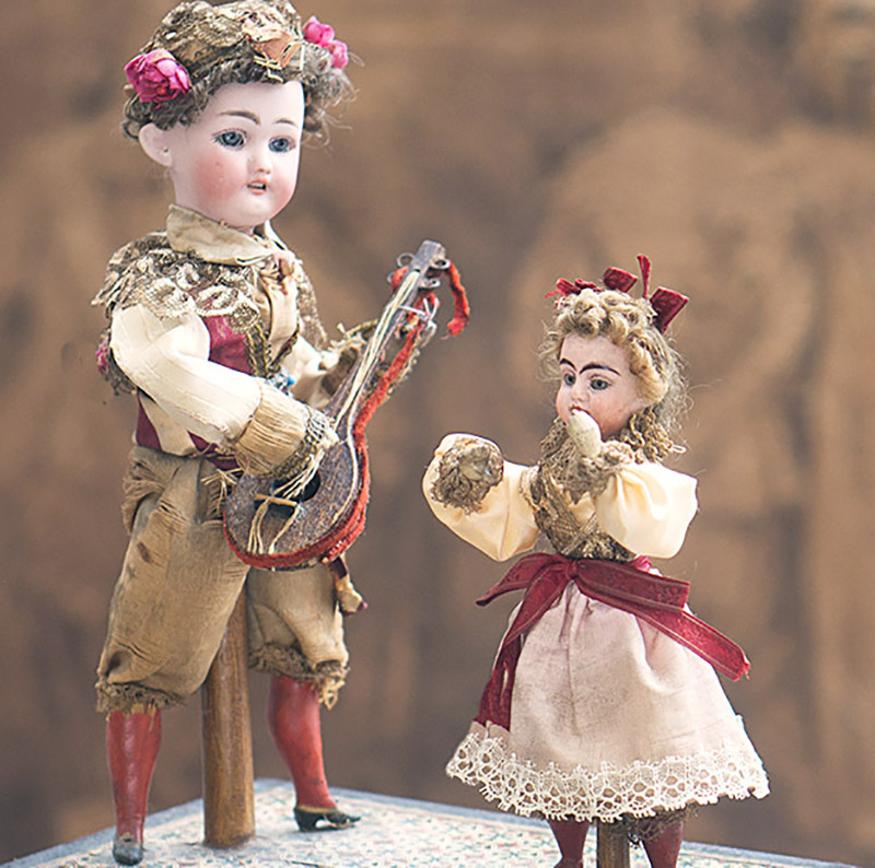 Antique German Musical toy