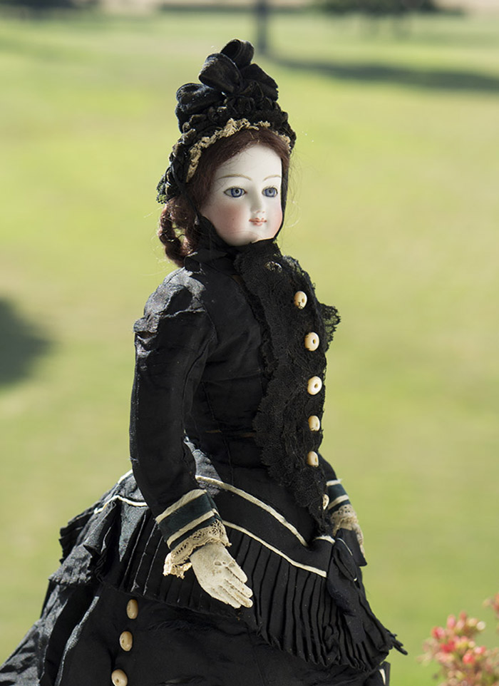 Модная кукла BRU - 1867 год, 42 см