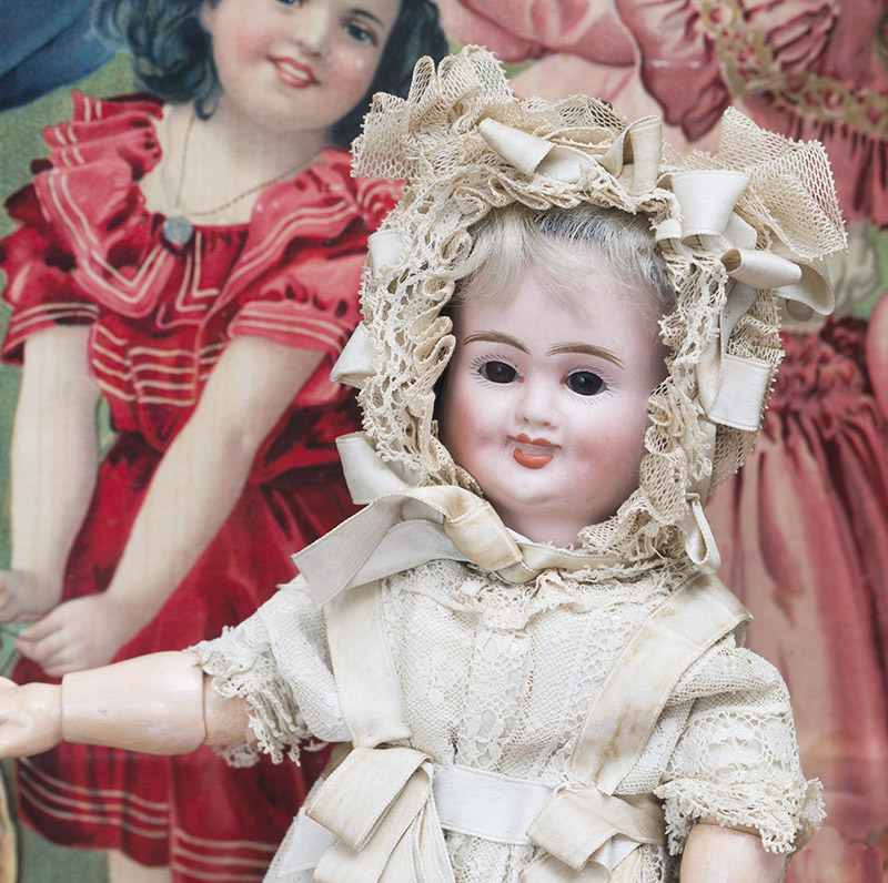Three-Faced Doll by Carl Bergner i