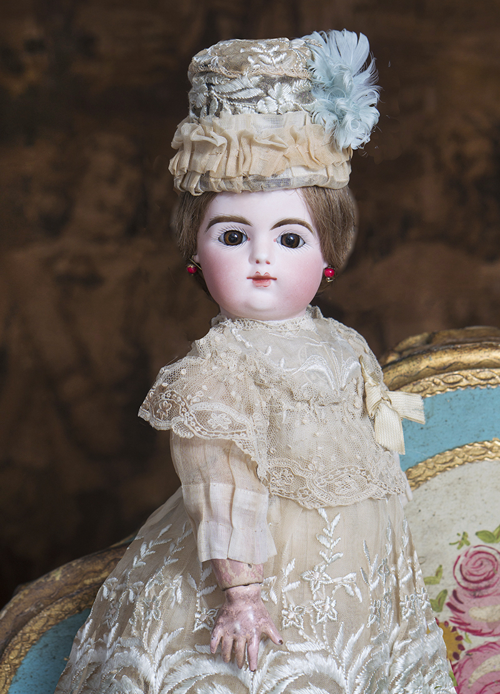 38 см Кукла Готье с закрытым ртом. 1880е годы