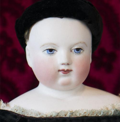 Ранняя кукла HURET, 1850-е годы