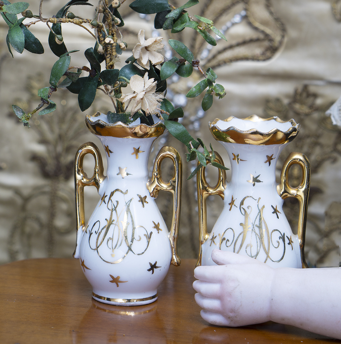 Antique French Pair of Vases