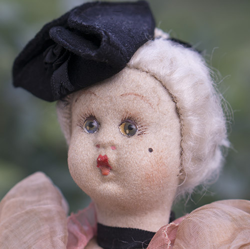 LENCI CHARACTER DOLL IN ORIGINAL COSTUME