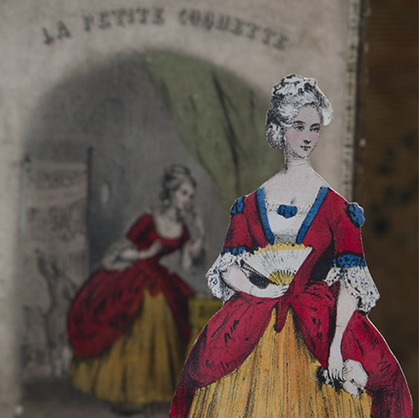 French  Paper Dolls La Coquette
