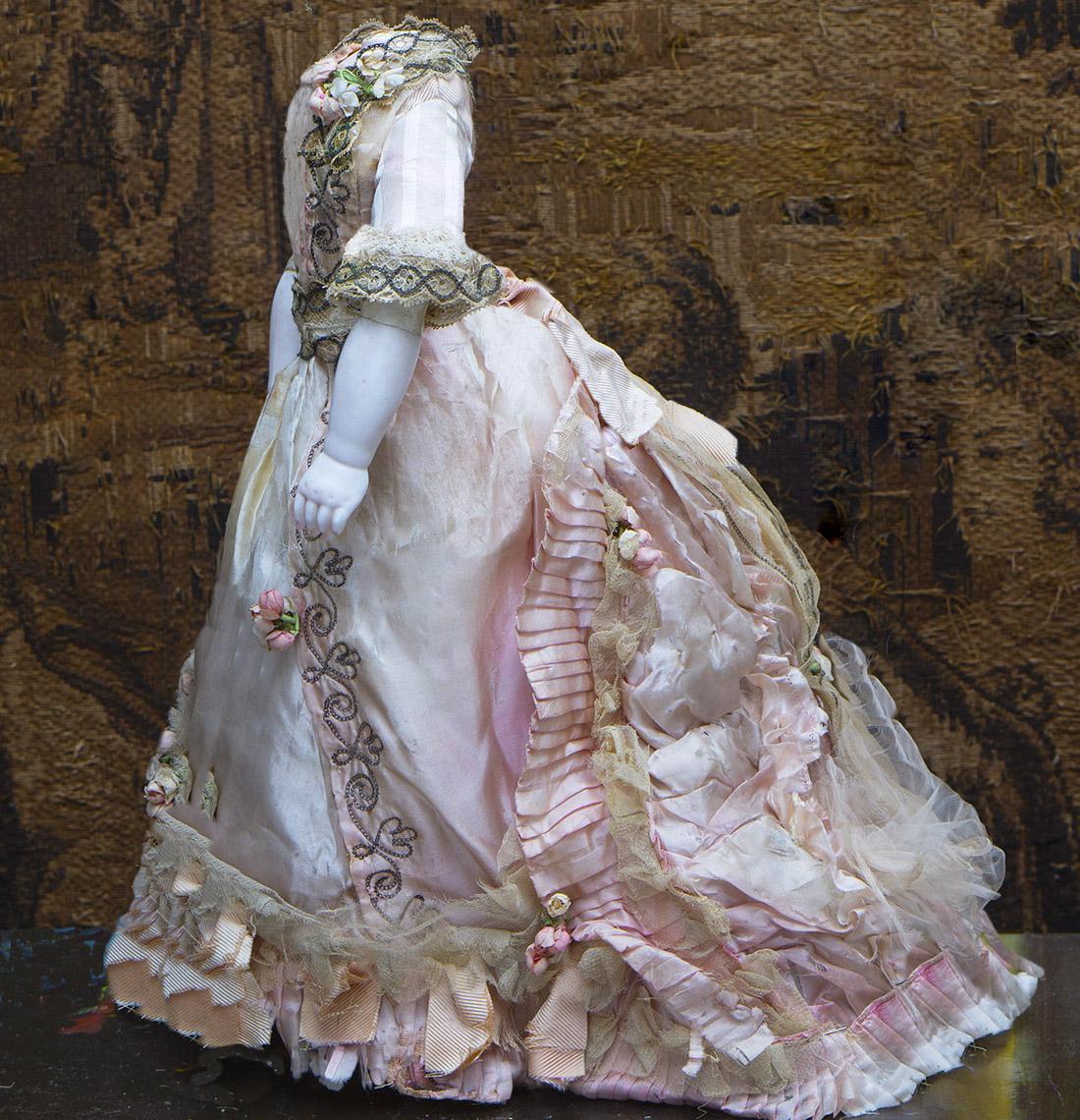 Antique Original Silk Gown