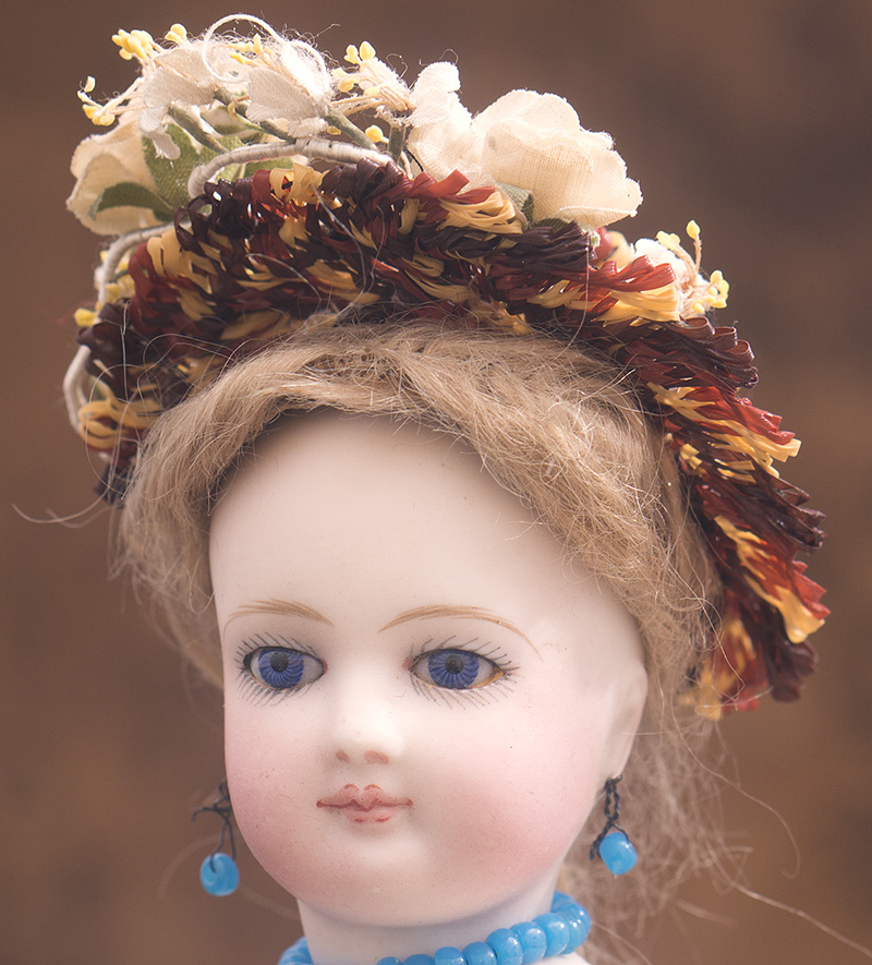 Antique Original doll hat