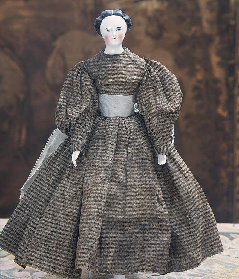 27см Рання немецкая модная кукла