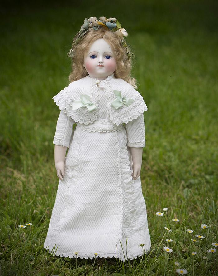Редкая французская кукла - одна их первых моделей Steiner, 1870е годы