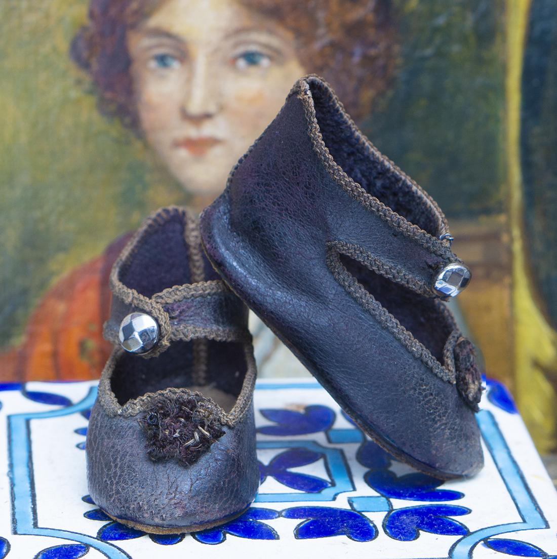 Antique E.J. bebe shoes