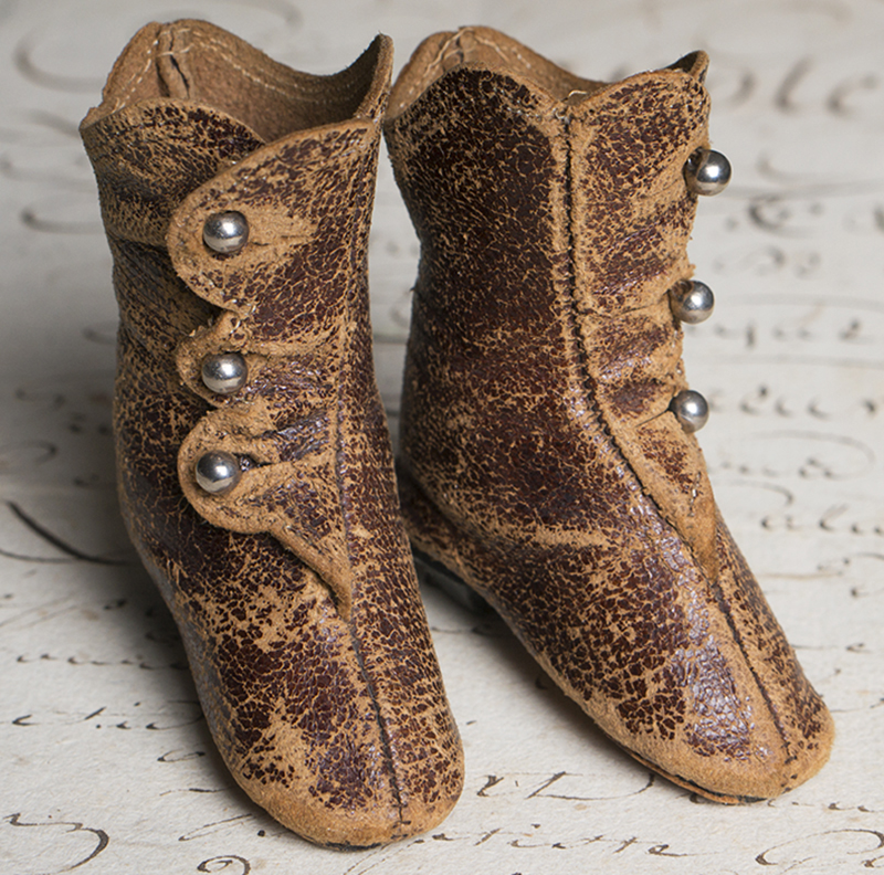 Antique Boots for Fashion doll