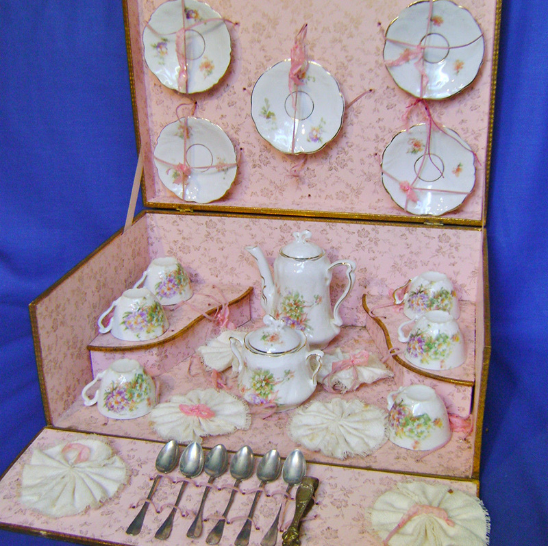 Antique Original French Tea Set
