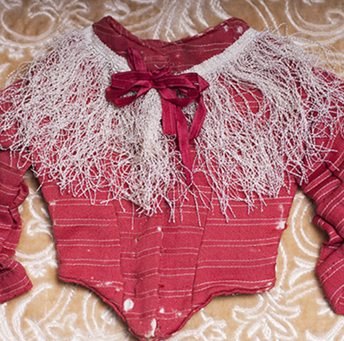 Antique bodice for french fashion doll