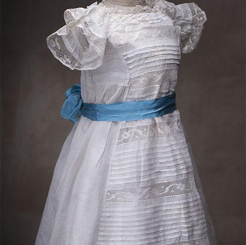 Antique Batiste dress for large doll